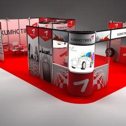 Diseño Stand Kumho